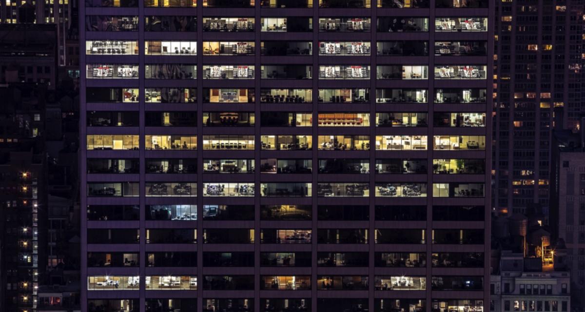 Godt inneklima bidrar til økt effektivitet på arbeidsplassen